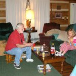 Hanging out by fire, Rocky Top, 2008