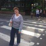 A famosa rua dos Beatles