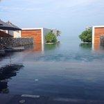 Main swimming pool area...with horizon wet edge facing out to the Andaman Sea...Stunning!