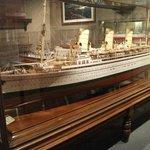 Model of RMS Empress of Japan