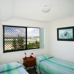 Second bedroom 2 BR apartment at the Waterview