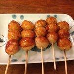 chicken dumpling yaki!