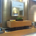 Water Fountain in the Lobby