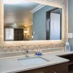 Vanity in king room