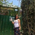 The entrance to Casa los Cerros