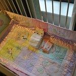 Beautiful crib bedding