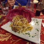 local pasta dish