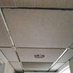 ceiling in rm 345