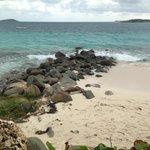 Rock Divider of Nude / Non Nude Orient Beach