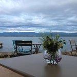 Restauration très soignée avec produits de grande qualité, au bord du lac Léman, prix raisonnabl