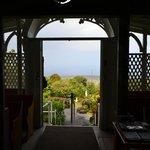 Looking out entrance over Kealekakua Bay