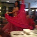 Bellydancing twirl