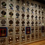wall of discs