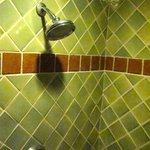 Dove Suite tiled walk-in shower