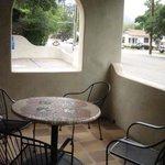 Dove Suite patio