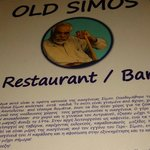 Old Simos Cafe Restaurant