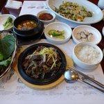 大衆食堂「鶏林」の食事