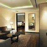 Junior Suite King Double Living room1