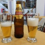The cold beer in the hotel restaurant is the only good thing!