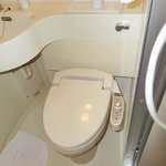 the heated toilet with bidet