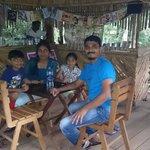 At the chaya kada