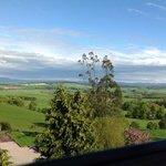 View from top floor room