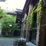 Castello Pomerio, interno