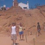Sand sculptures, Pera, Algarve