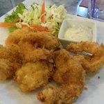 tempura prawns