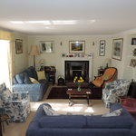 The Sitting Room at Pembrokeshire Farm B and B