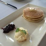 Pancakes served at Bistro Song Vie