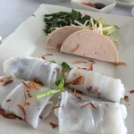 Banh Cuons served at Bistro Song Vie