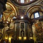 Prague church St. Francis os Assisi interier