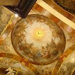 Prague church St. Francis of Assisi fresco