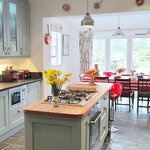 Kitchen at Pembrokeshire Farm B and B