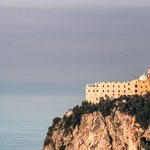 Monastero Santa Rosa taken from the hill opposite