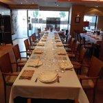 Una mesa de banquete