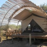 Our newly renovated tent... luxury