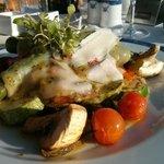 Grilled vegetable starter at Portofino