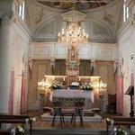 Kerkje interieur