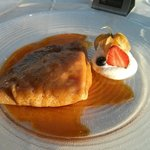 Crepe with apple at Portofino