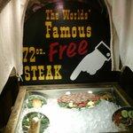 Steak 72 oz