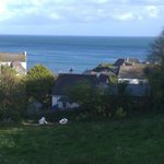 View walking into Cadgwith