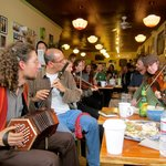 Irish Music Session every Saturday 2-5pm