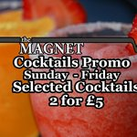 Our long standing cocktail promo that runs Friday to Sunday