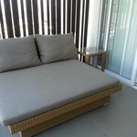 Daybed at balcony
