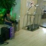 in attesa della partenza