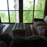 Sitting area in Sunrise room