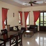 Living area - C7 (1 bedroom apartment)