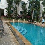プールの風景